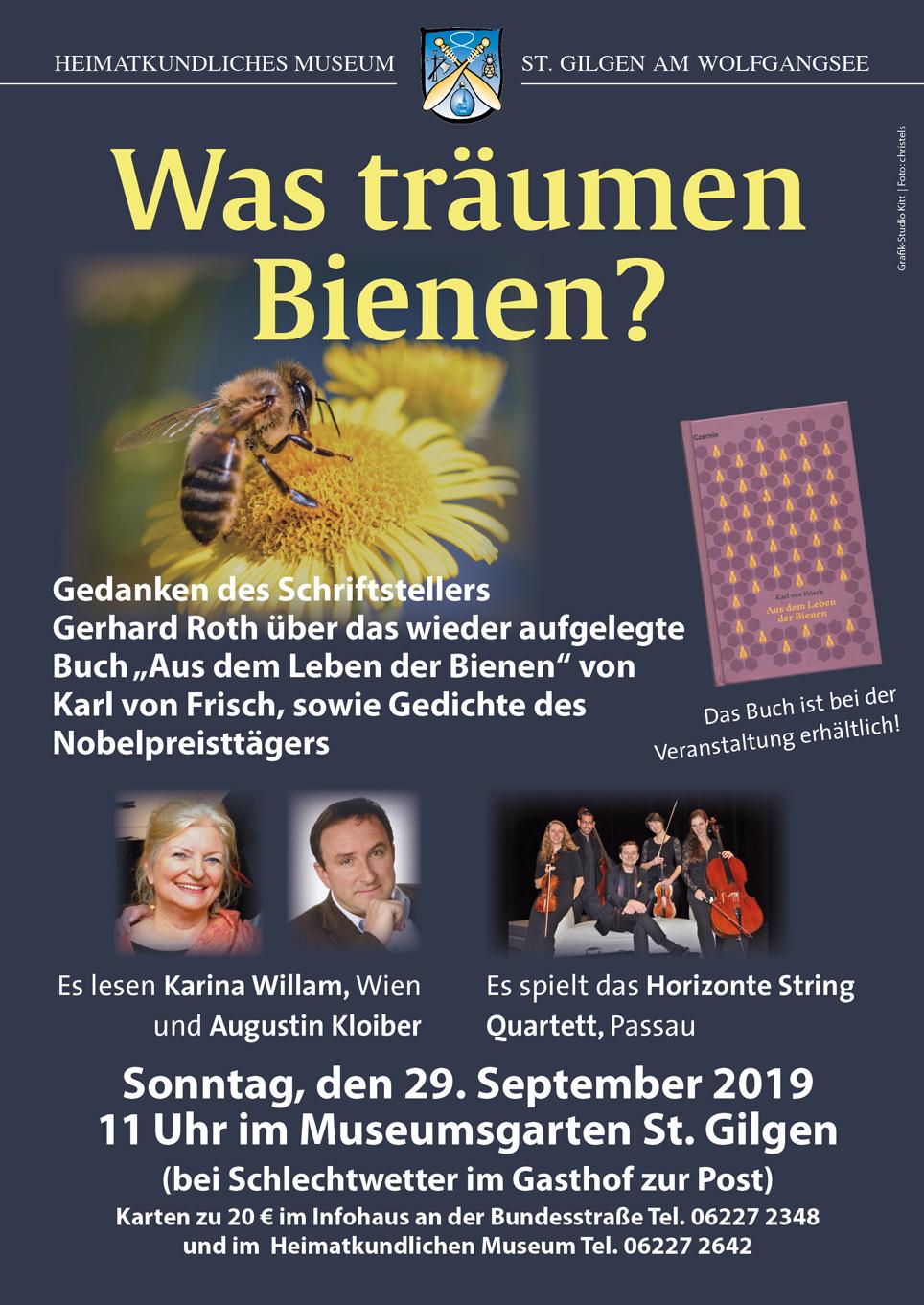 Plakat Bienen_
